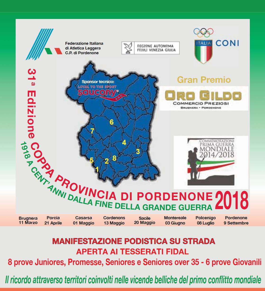COPPA PROVINCIA DI PORDENONE 2018